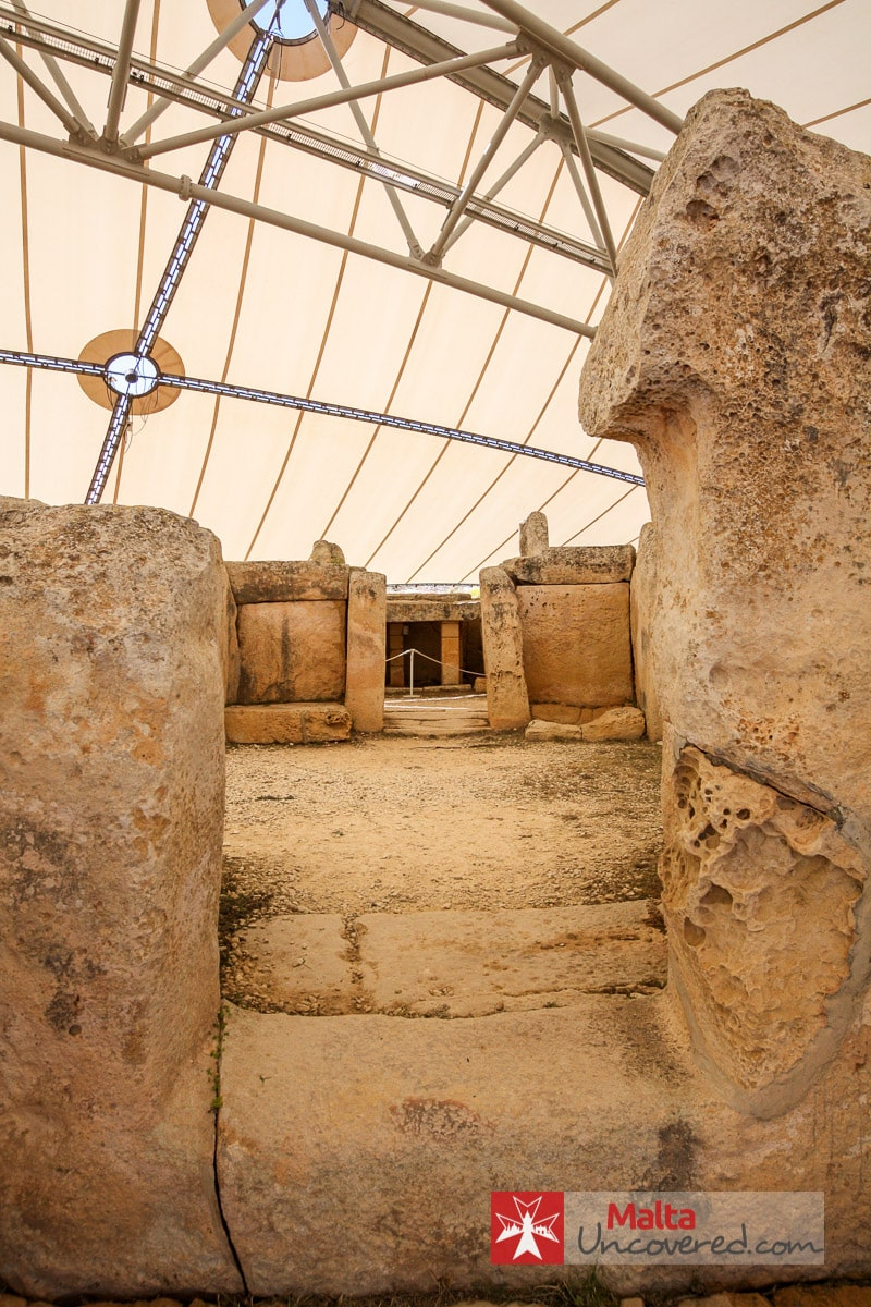 View of the South temple at Mnajdra.