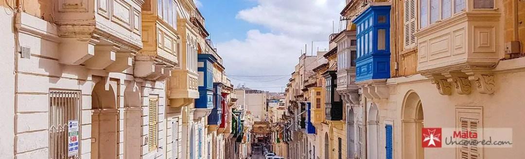 Sliema is a popular tourist resort in Malta.