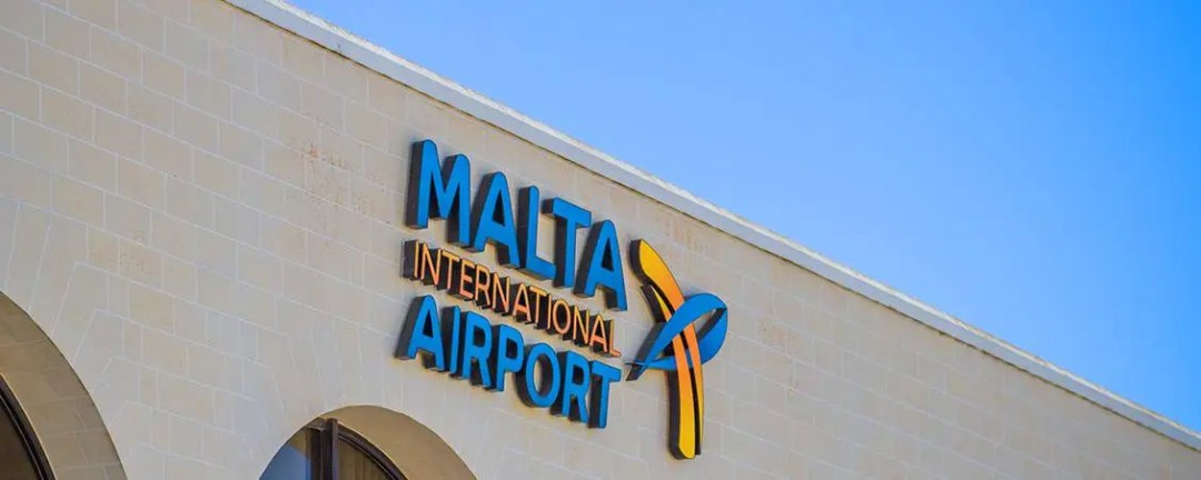 Malta International Airport building. Photo by Cezary Borysiuk.