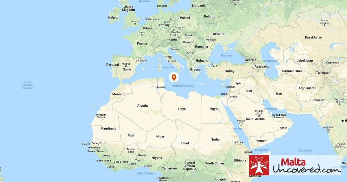 Where Is Malta Located On The World Map Where is Malta the country located on the map of the world?