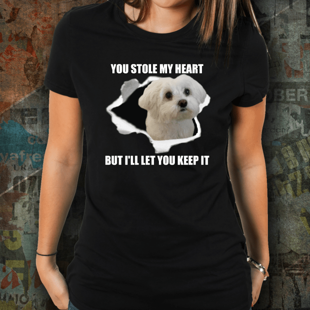 Maltese Dog Lovers Tee
