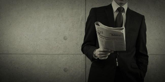 新聞の終焉を読む男