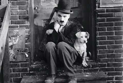 Charlie Chaplin ve Köpeği