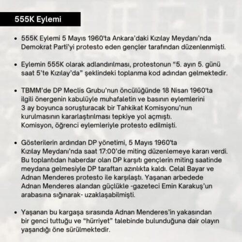 555k eylemi
