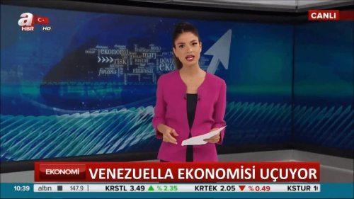 venezüela ekonomisi uçuyor