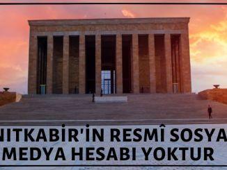 Anıtkabir'in Resmi Hesabı Olduğu İddiasıyla Açılan Sosyal Medya Hesapları