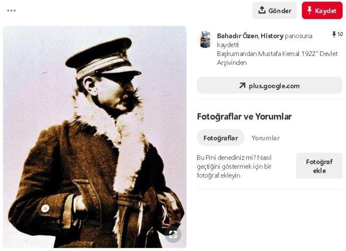 atatürk askerlik fotoğrafı
