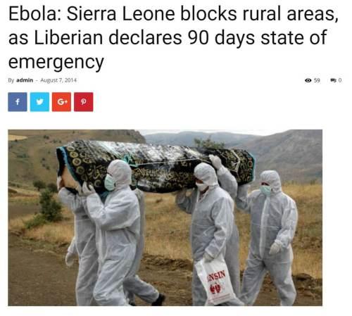 Aytaç Yalman'ın cenazesine ait olduğu iddiasıyla paylaşılan fotoğraf aslında 2014 yılında Ebola salgını esnasında çekilmiş