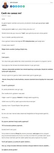 erdoğan canlı yayın