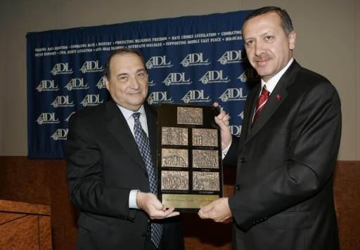 erdoğan yahudi cesaret ödülü