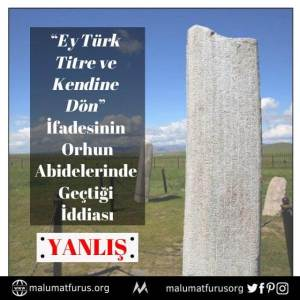 ey türk titre ve kendine dön orhun abideleri