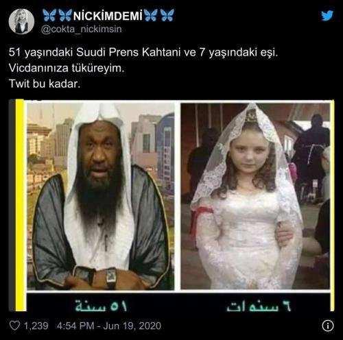 Suudi prens ile 7 yaşındaki eşi