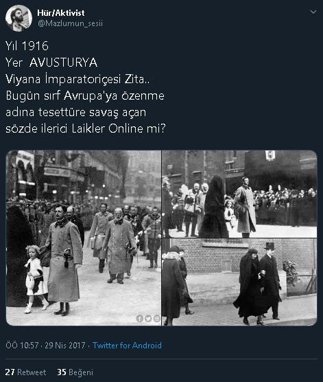 Fotoğraftaki Avusturya Kralının Eşini Kara Çarşafa Soktuğu İddiasını iİçeren Paylaşım