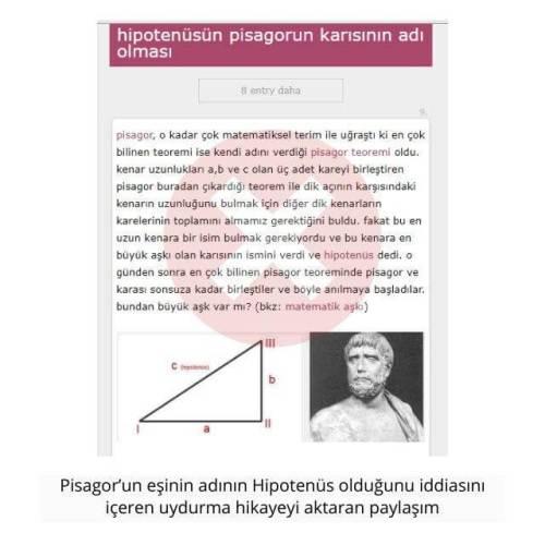 pisagorun karısının adı hipotenüs