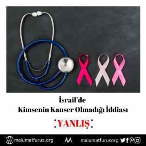 israilde kanser