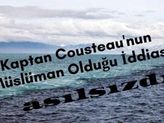 Kaptan Kusto'nun Müslüman Olduğu İddiasının Asılsızlığı