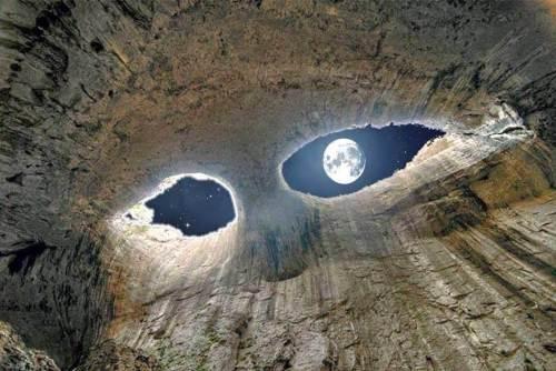 mağara ay fotoğrafı