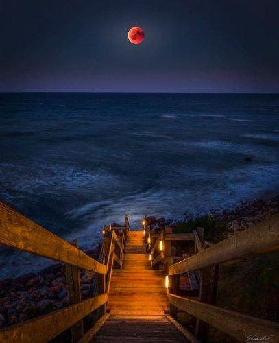 photostop ay fotoğrafı