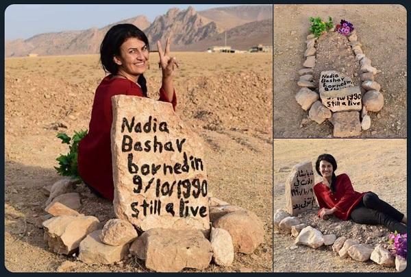 Nadia Bashar'ın diğer performanslarından kareler