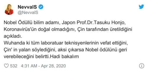 japon bilim adamı koronavirüs