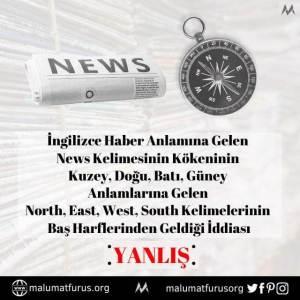 news kuzey doğu batı güney