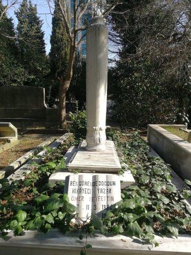 ömer seyfettin mezarı