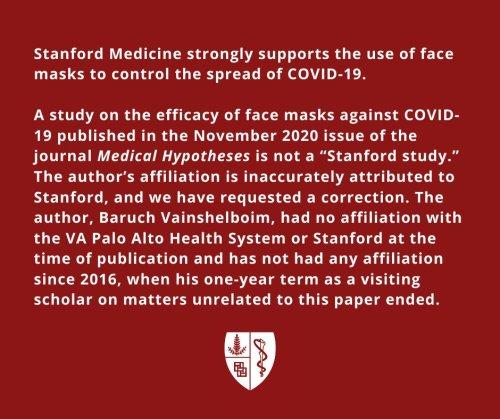 stanford maske açıklaması