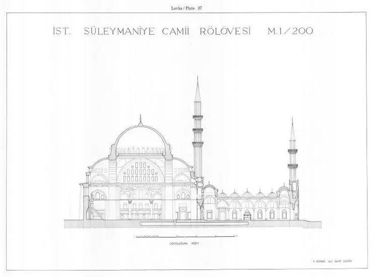 Süleymaniye Camii Rölövesi