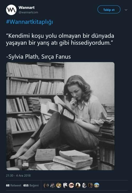 Barbara Laage'ye ait fotoğrafı Sylvia Plath'e aitmiş gibi paylaşan tweet