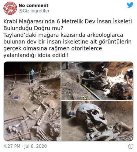 Khao Khanap Nam dev insan iskeleti