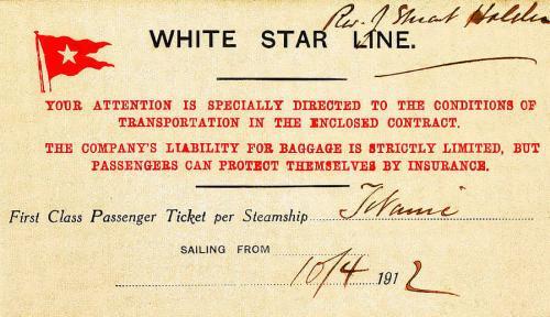 titanik birinci sınıf bileti