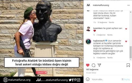tuğba özay instagram yorum