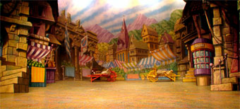 Malvern Hostick Design For Cinderella Set Design Page
