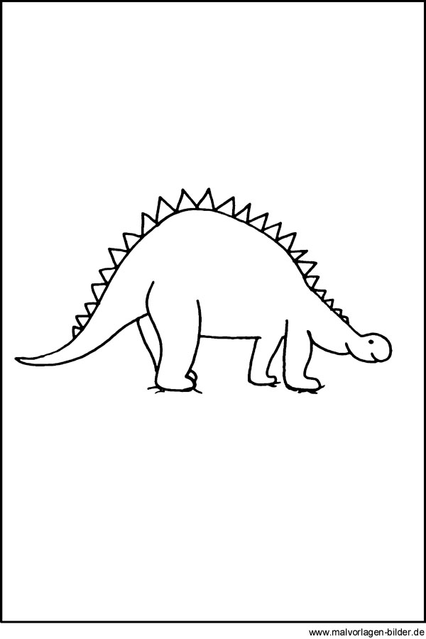Dinosaurier Window Color Bild Kostenlose Malvorlagen Und