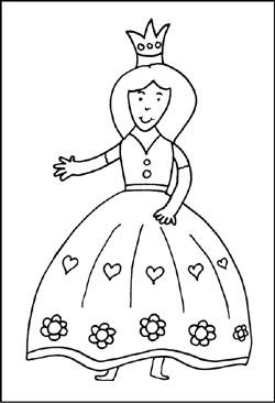 Prinzessin Knige Malvorlagen Ausmalbilder