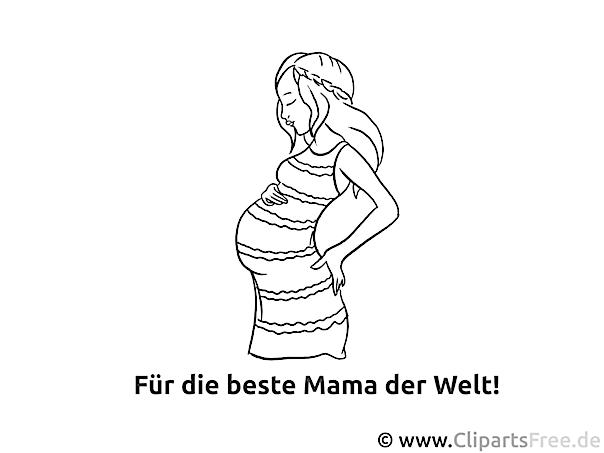 Fr Beste Mama Ausmalvorlage Malvorlage Malbild Gratis