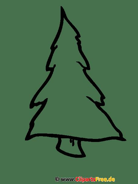 Tannenbaum Malvorlage Malvorlagen Zu Weihnachten Gratis