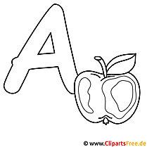 Buchstaben Zum Ausmalen Englisches Alphabet Kostenlos