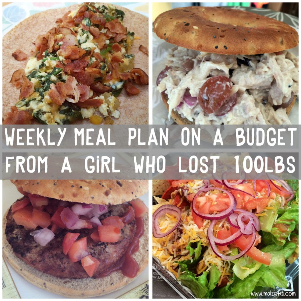 Weekly Meal Plan 1 On A Budget
