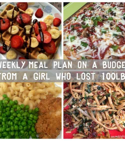 healthy meal plan on a budget