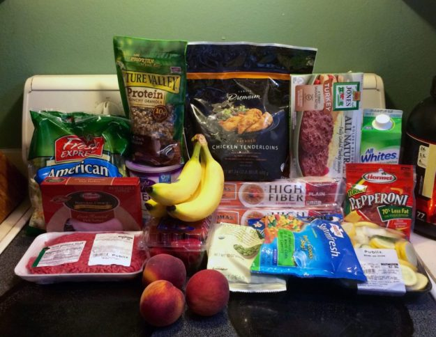 week 4 meal plan grocery haul healthy