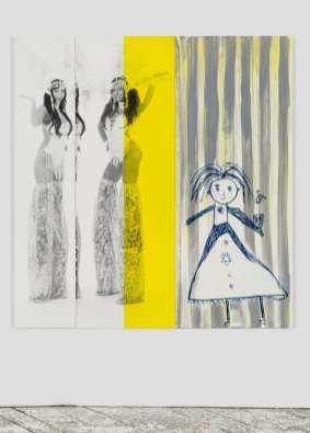 Julia Wachtel, Showgirls, 2014. Courtesy of the artists and Elizabeth Dee, New York