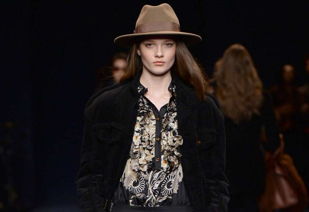 La Donna Trussardi Fall/Winter 2016, Milano Fashion Week