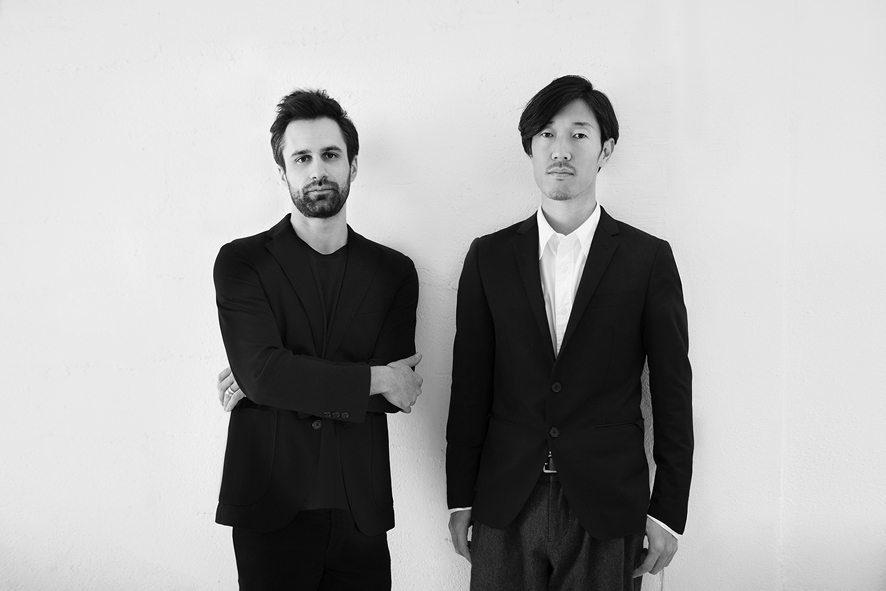 Tommaso Nani e Noa Ikeuchi dello Studio MIST-O. Foto di Alberto Strada