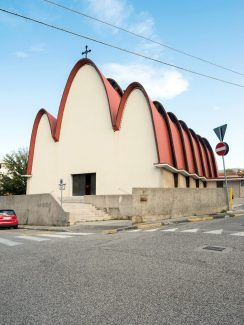 ITALOMODERN: Tamburini, SanLuigiGonzaga, Trieste, 1954- 60. Foto Werner Feiersinger