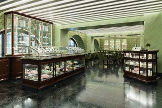 Dettagli della nuova location in Galleria Vittorio Emanuele