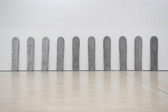 "Al Mart, ""Tavole di alfabeti primari"" d Eliseo Mattiacci"