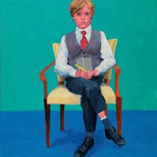 Arte: i ritratti di david hockney in mostra a venezia. david hockney