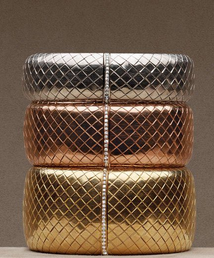 Mame Fashion Dictionary: Bottega Veneta. Bangles.
