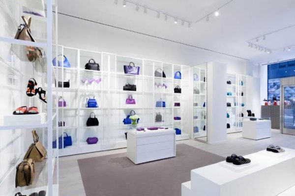 Mame Fashion Dictionary: Bottega Veneta. The store on Madison Avenue, New York.